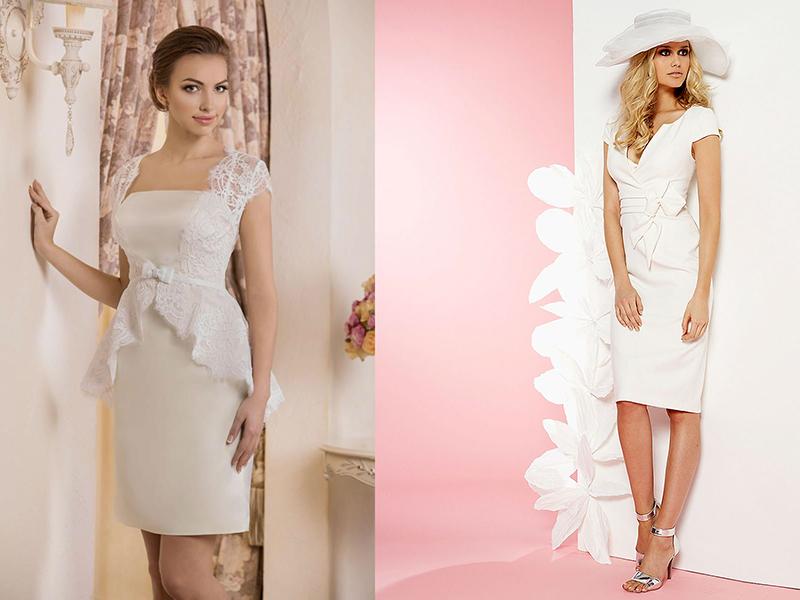 Купить Платье Футляр Свадебное