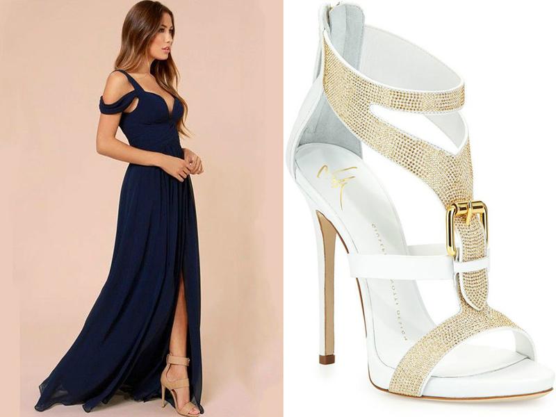 Туфли под платья в пол