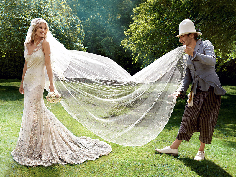 Фото невест в свадебных платье рыбка