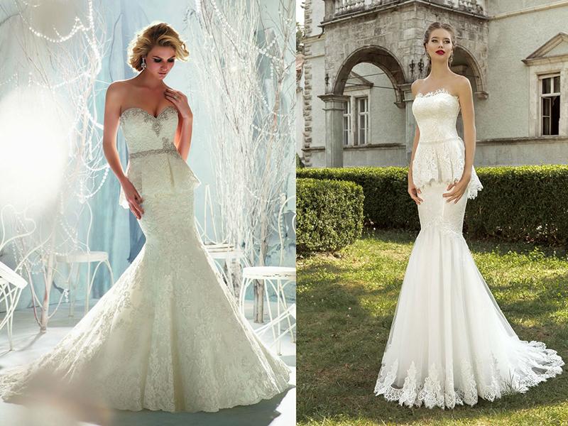 Какое свадебное платье подойдет высокой