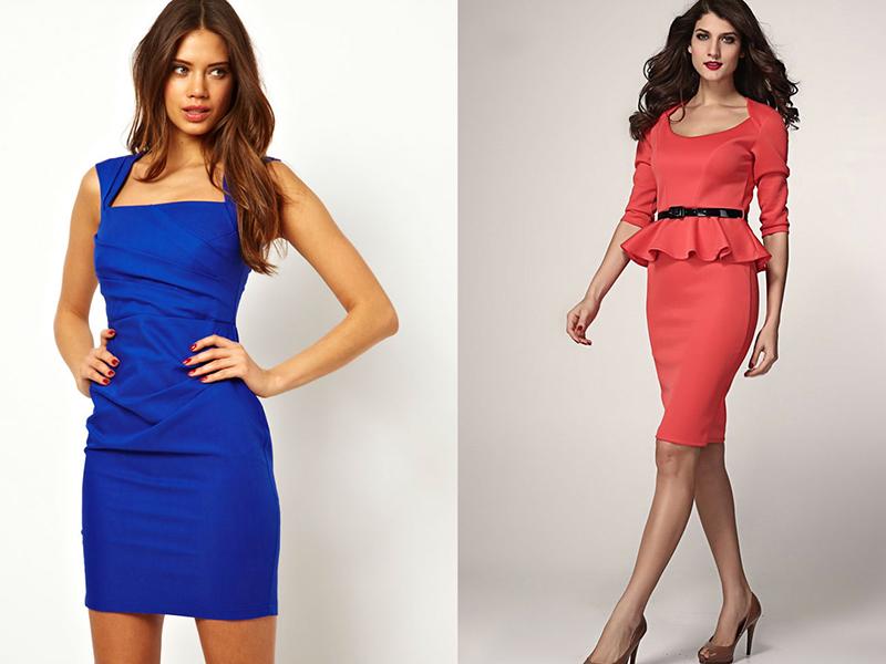 Сшить короткое светлое платье