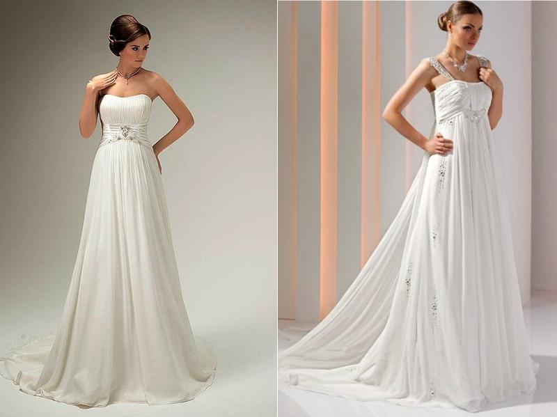 Купить Свадебные Платья Ампир