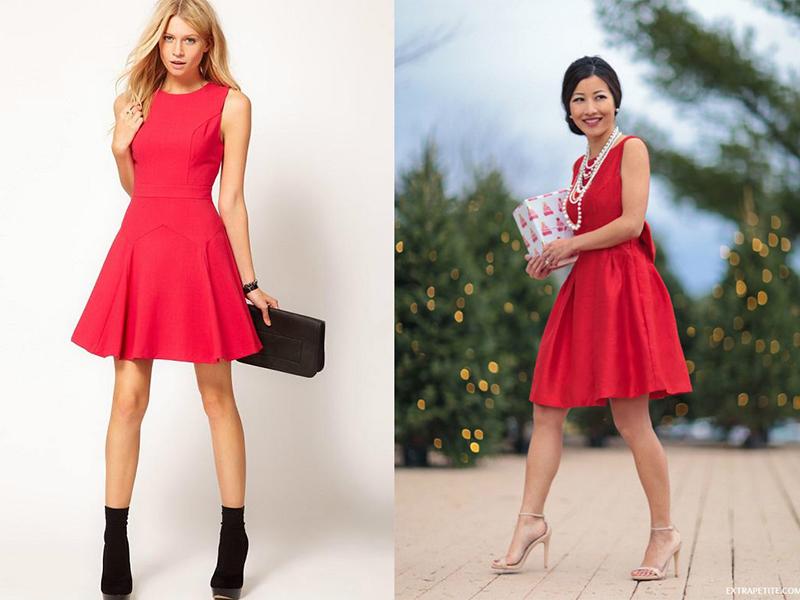 Что можно подобрать на красное платье