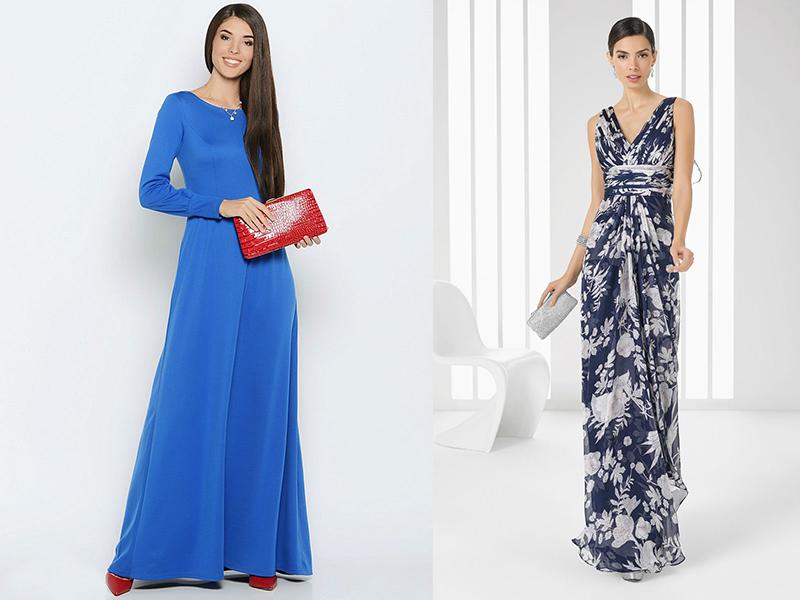 Сшить длинное платье фасоны