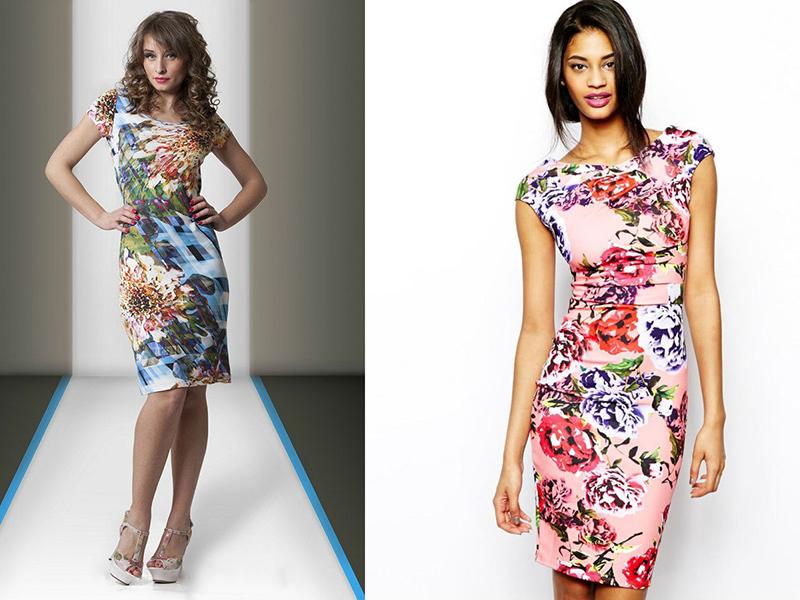 Ткань для летнего платья однотонное