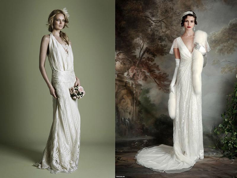 Свадебные платья их история