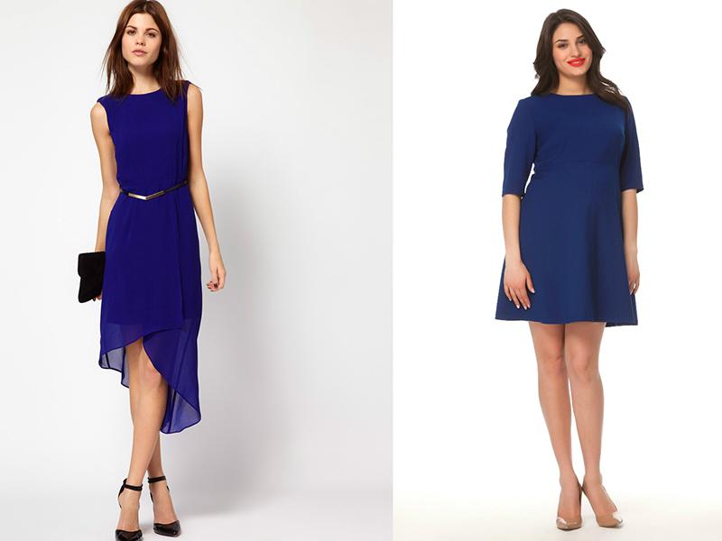 Аксессуары под темно-синее платье