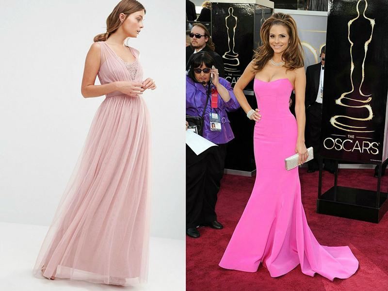 Не менее эффектно выглядят розовые вечерние платья, сшитые в стиле ампир.  Линия отреза юбки у них располагается сразу под грудью, а легкие,  струящиеся юбки ... 068e3705d15