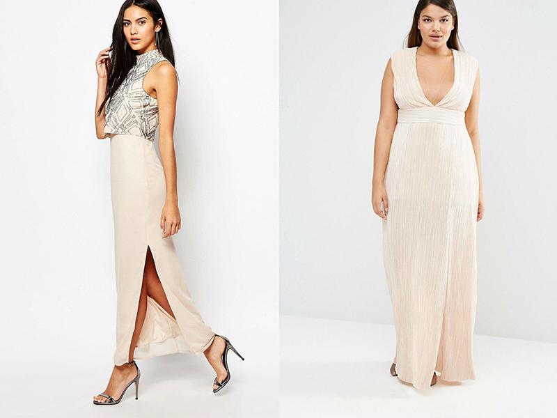 Платья на вечеринку в пол