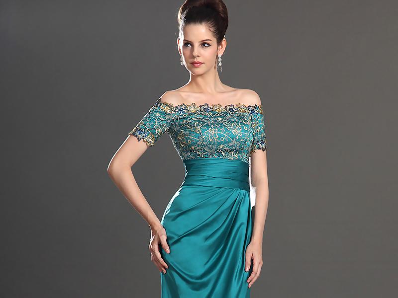 Длинные и короткие вечерние платья с кружевом могут выглядеть элегантно и  воздушно 31b621a42b037