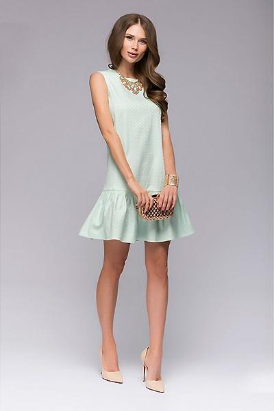 Платье с воланами – символ женственности и романтичности 29d49271151