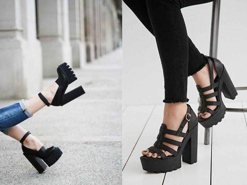 Актуальность. Туфли на тракторной подошве, похоже, очень прочно  «обосновались» на модном подиуме, поэтому можно смело покупать такие  модели, они еще долго ... 508bce16e03
