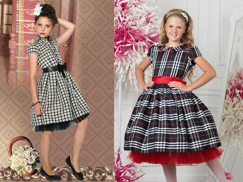 Сшить платье для девочки на день рождения