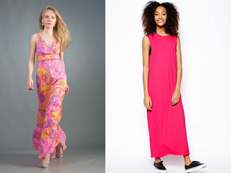 Длинные платья лето сшить
