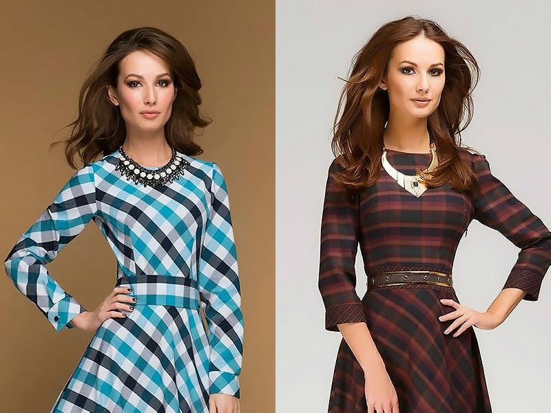 Однотонный платья лучше