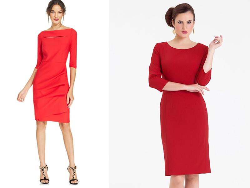 Укладки к красному платью