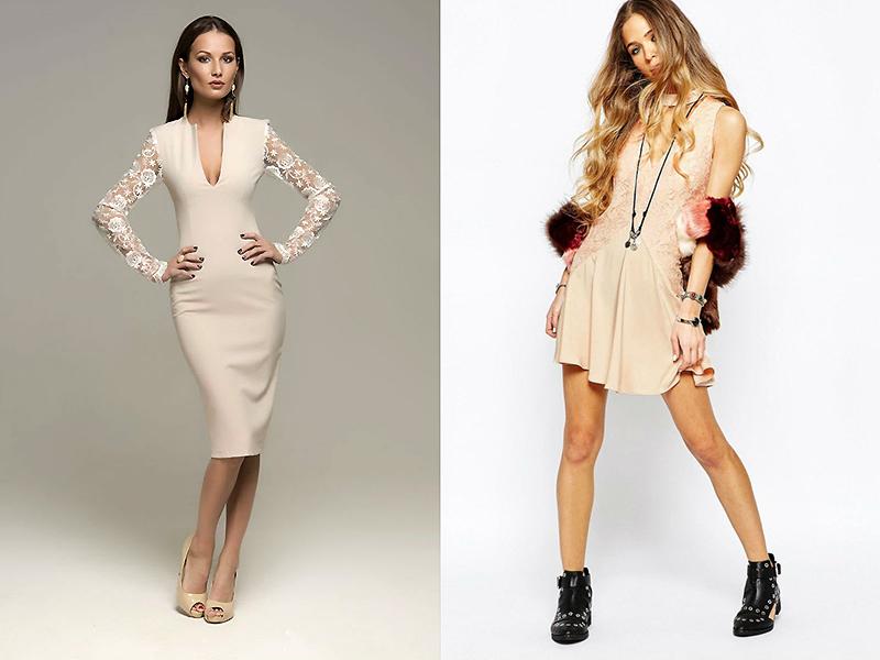 Кружевные платья какая обувь