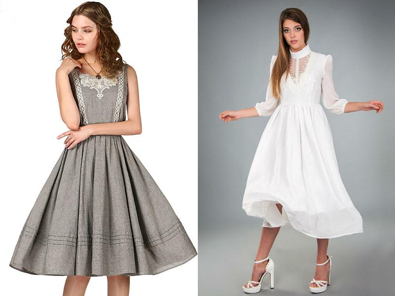 Платье узкое с юбкой на талии