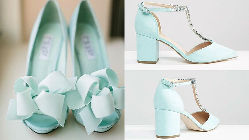 Купить туфли изумрудного цвета