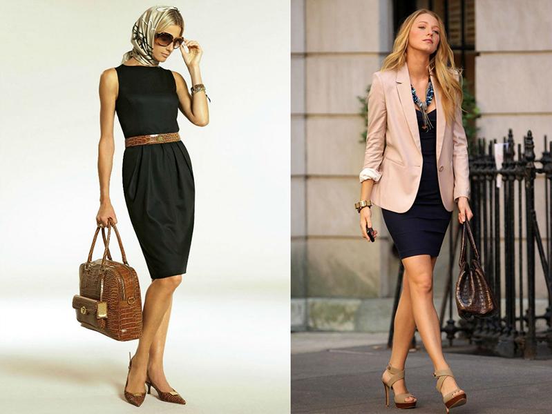 Пиджак и платье сочетание
