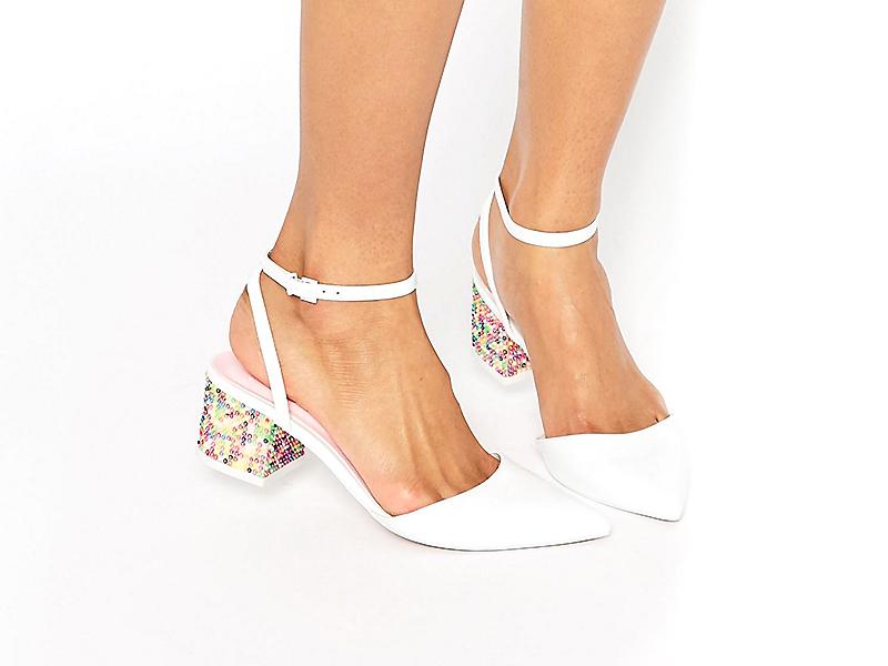 Выбираем свадебные туфли на низком каблуке