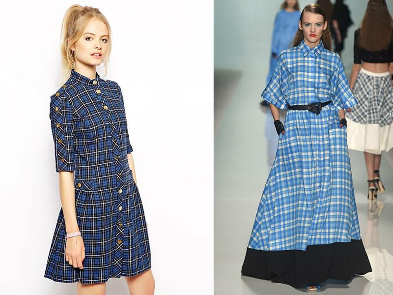 Как сшить рубашечное платье 397