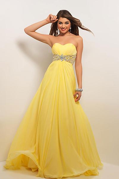 Желтое платье нарядное платье для