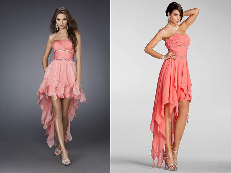 Платье с асимметричной юбкой – это альтернативный вариант вечернего наряда.  Ведь не на каждом мероприятии будет уместен туалет с юбкой в пол. a4dbb60f729