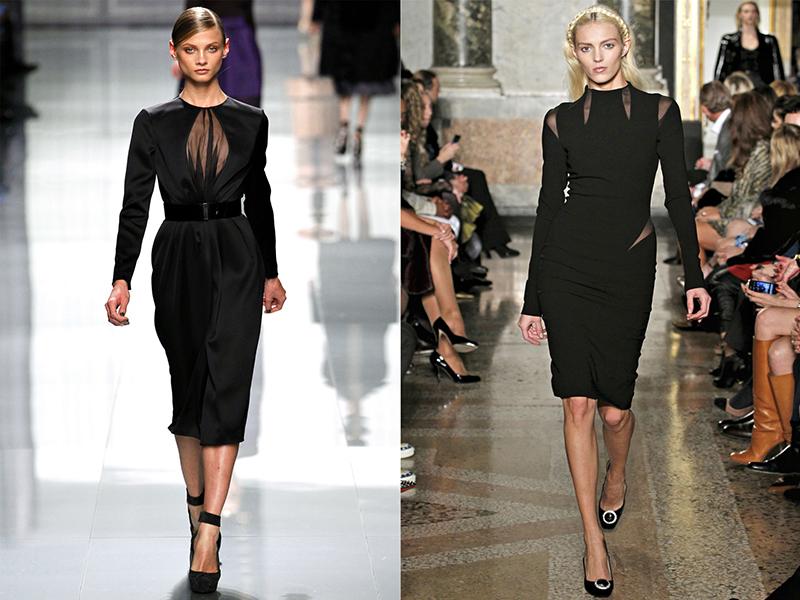 Платье модного образа