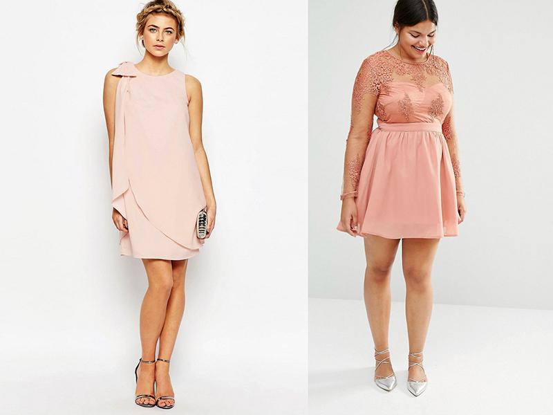 Платье саваж розовое короткое