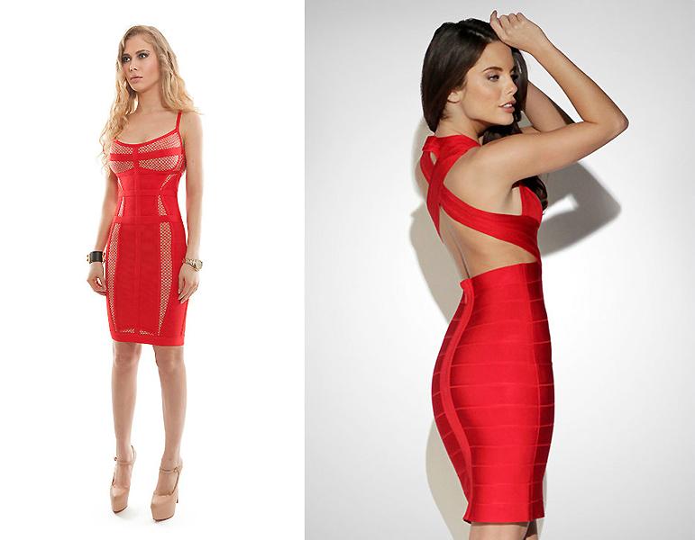 Картинки платья красным цветом короткие обтягивающие