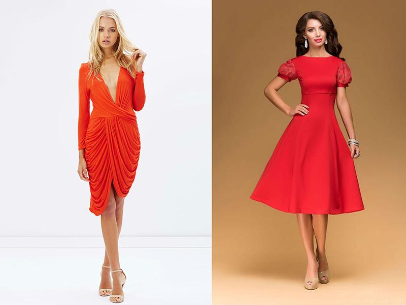 Красное Коктейльное Платье Купить В Москве