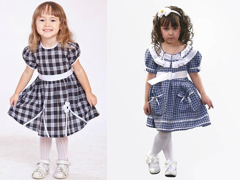 Как сшить платье для детского сада фото 885