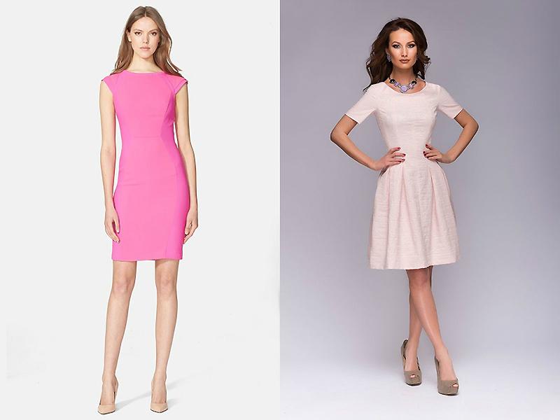 Купить Платье Нежно Розового Цвета