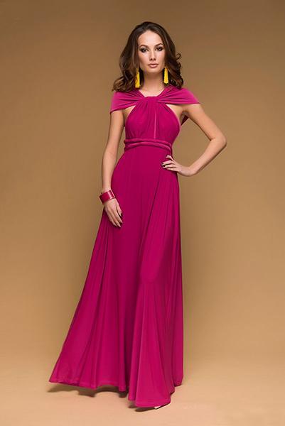 Красное платье со шлейфом: почувствуй себя королевой 231