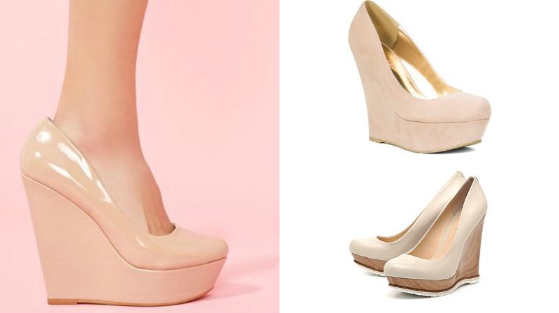 Летом удобно носить обувь на танкетке с открытым носом или открытым  задником. Но выбирая такую обувь, нужно позаботиться о том, чтобы педикюр  был идеальным, ... 1672fc91fb4