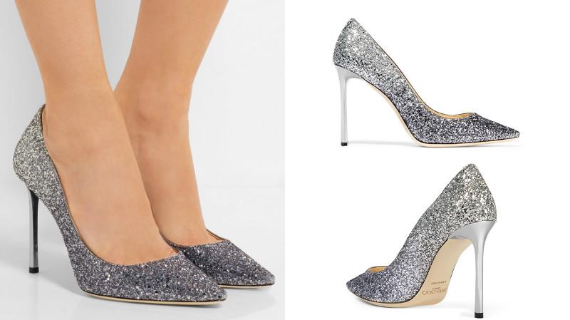 Туфли на высоком каблуке и платья