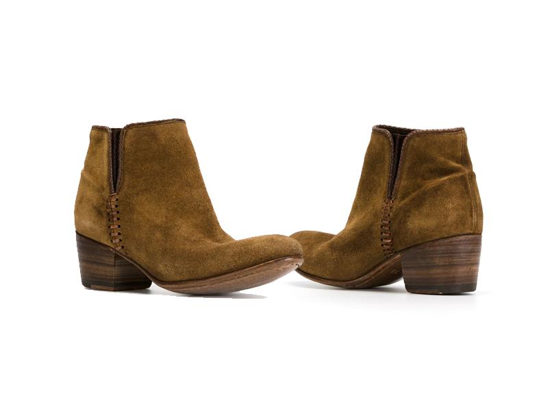 Оригинальные туфли-казаки  с чем носить и как комбинировать 4510ae22694