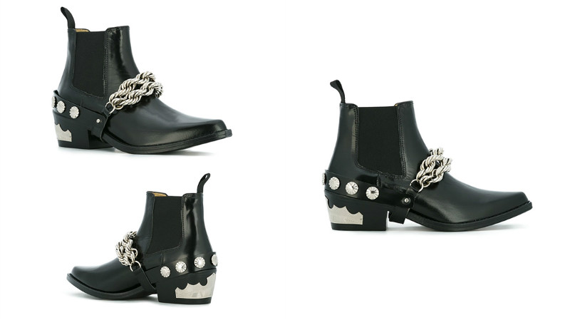 И мужчины, и женщины могут комбинировать туфли-казаки с одеждой рокерского  стиля – кожаными брюками, куртками косухами, банданами. 036d7688231