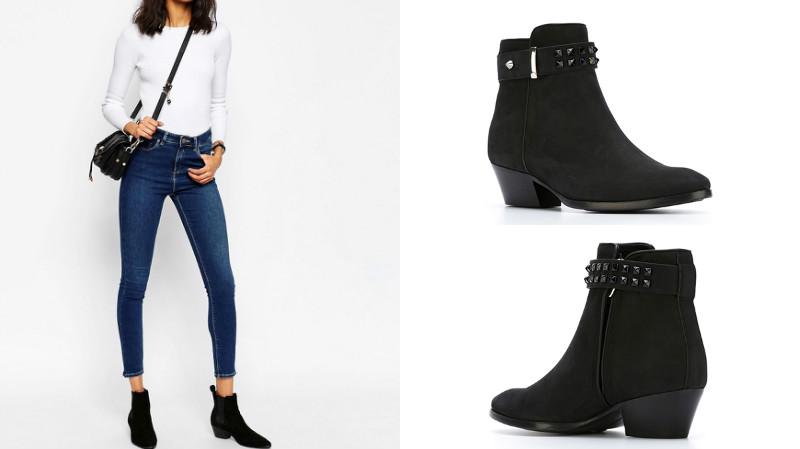 Для получения гармоничного образа стоит комбинировать туфли-казаки с  джинсами. Причем данная рекомендация подойдет и мужчинам, и женщинам. 508fd259a0c