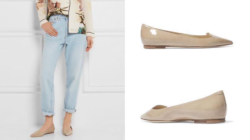 c0478a101ad7 Это могут быть балетки с острым носом или лоферы. Балетки можно носить с  джинсами, платьями или юбками. Особенно хорошо этот вид обуви смотрится с  ...