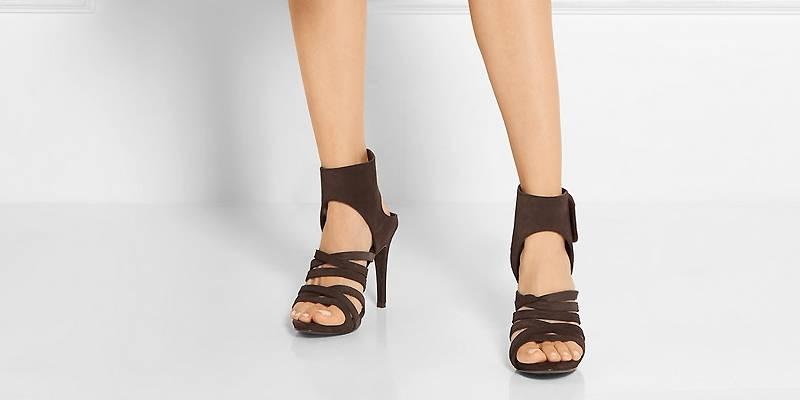 Женские коричневые туфли – правила носки и комбинирования d9278f4c633