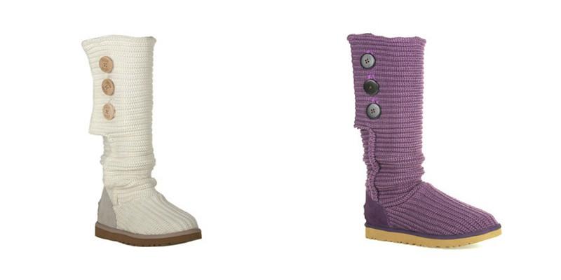 Вязаные сапоги помогут создать стильные и дерзкие образы, Мода от