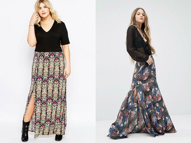 Длинные юбки на каждый день