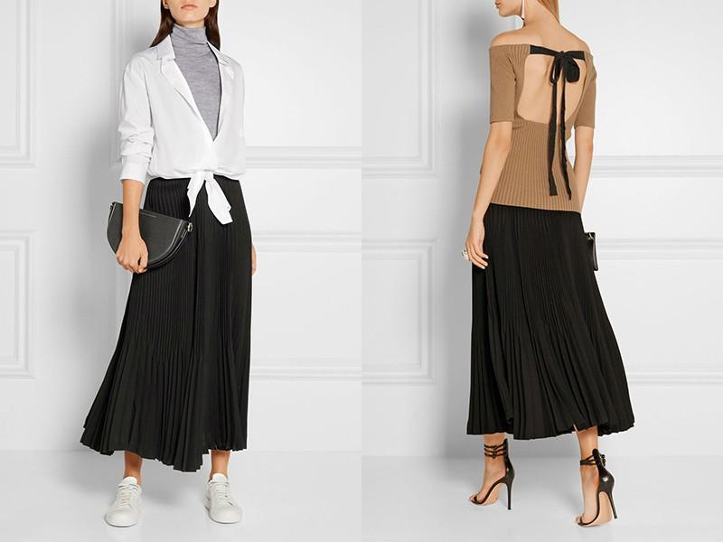 Как делать складки юбки плиссе