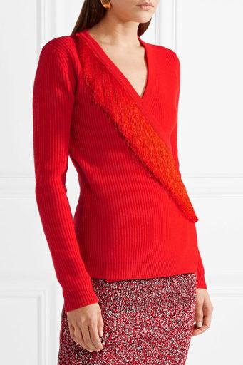 2af3c318022 Красная кофта (70 фото) вязанная