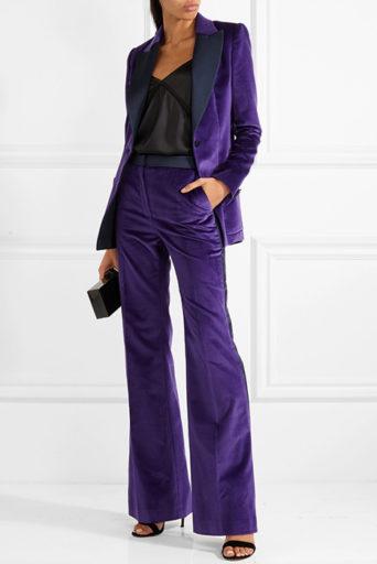 11e189af400 Брючные костюмы для женщин с размером plus-size стали настоящей  палочкой-выручалочкой.