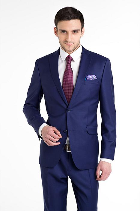 7c8832d5a Комплект приятного синего оттенка отлично совмещается с одеждой  нейтрального тона и обувью черного, синего или коричневого цвета.