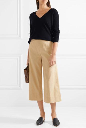 Льняные брюки с чем носить | Кэжуал наряды, Наряды и Женские брюки | 512x342