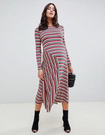 c94994fcfa4 Фасоны платьев из трикотажа (75 фото)  модели для молодых и женщин в ...